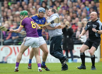 Wexford boss Davy Fitzgerald will be in the stands for their Leinster opener.