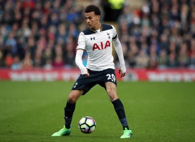 Tottenham's Dele Alli.