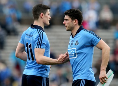 Connolly and Brogan are both set to start tomorrow's league showdown.