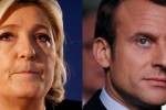 Exit poll puts Le Pen and Macron ahead in French Presidential election