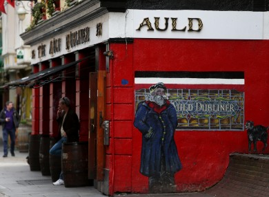 Many tourists express bemusement when they visit pubs in Temple Bar to find them closed on Good Friday