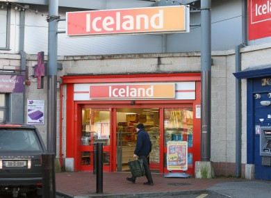 File photo of Iceland store in Cabra, Dublin.