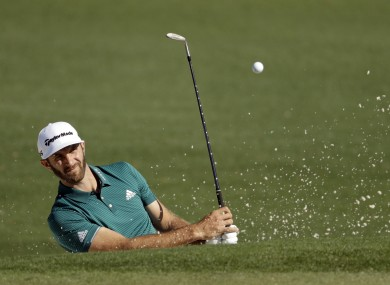World number one Dustin Johnson.