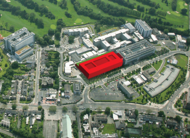 The new building will be located at St Vincent's Hospital in south Dublin