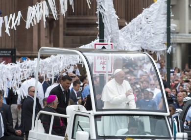 Pope Francis visited Philadelphia in September 2015