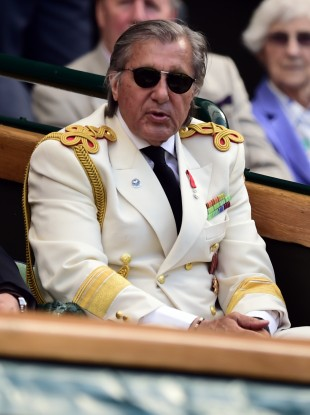 Nastase: argument with tennis journalist on Saturday (file photo).