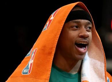 Boston Celtics star Isaiah Thomas.