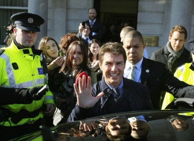 Some of the church's best known members include actor Tom Cruise.