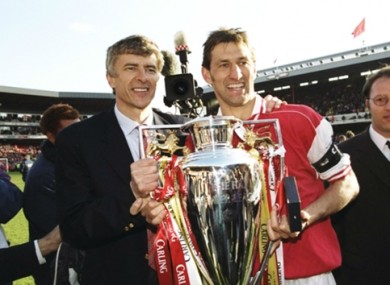 The pair in happier times.