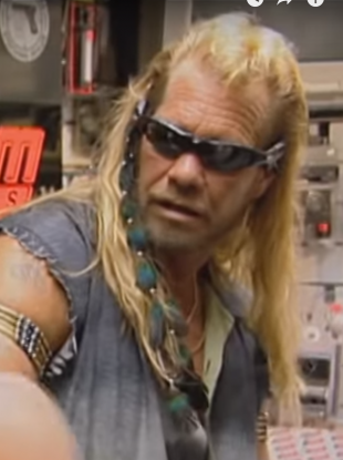 Still from popular US series 'Dog The Bounty Hunter'