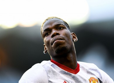 Pogba has flattered to deceive at times since re-joining United.