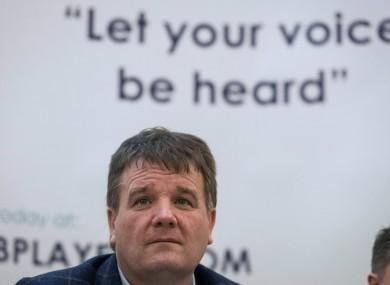 CPA secretary Declan Brennan.