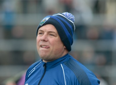 Derek McGrath is currently taking time out from his teaching job to focus on the Waterford senior hurlers.
