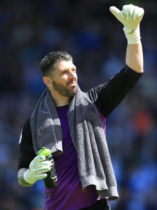 Owls goalkeeper Keiren Westwood.
