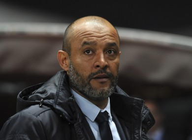 Nuno Espirito Santo previously managed Porto.