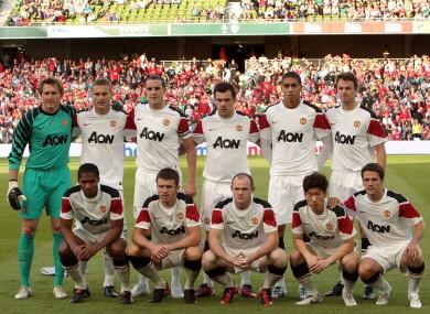 Man United last visited Dublin in 2010.