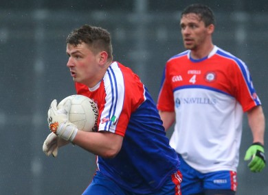 New York goalkeeper Vinny Cadden in action against Roscommon last year.