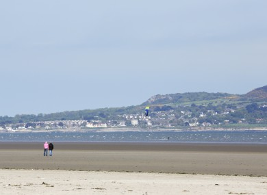 Dollymount beach.