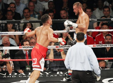 WBA, WBC and IBF Light Heavyweight Boxing champion Andre Ward and challenger Sergey Kovalev battle each other during their rematch.