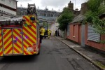 Man rushed to hospital after being rescued from building fire in Ballybough