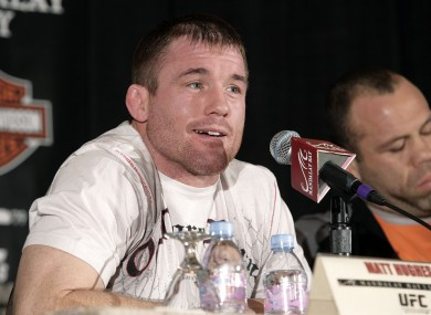 Matt Hughes: two-time welterweight champ.