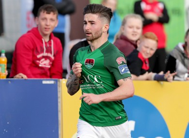 Sean Maguire hit a hat-trick for Cork City against Dundalk last night.