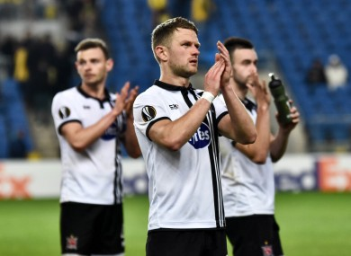 Dundalk reached the group stages of the Europa League last season.