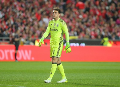 Ederson is a 23-year-old uncapped Brazilian stopper.