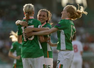 Stephanie Roche missed the draw with Iceland but is included in this month's squad.