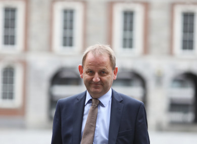 Sergeant Maurice McCabe at Dublin Castle where the tribunal is being held.