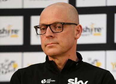 Team Sky principal Dave Brailsford.
