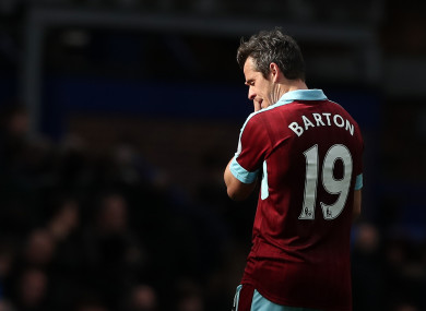 Barton: ban reduced by nearly five months on appeal.