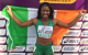 'To see her on the podium, the Irish flag going up and the anthem being played was just amazing'