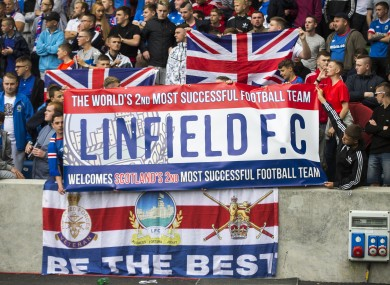 Linfield fans are set to travel to Glasgow.
