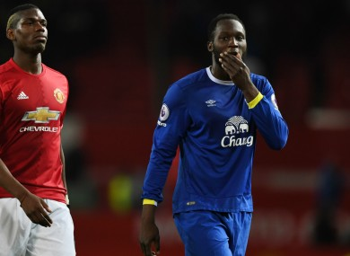 Reports claim Romelu Lukaku is on the verge of signing for Man United.