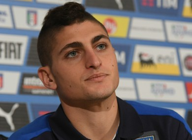 Italy international Marco Verratti.