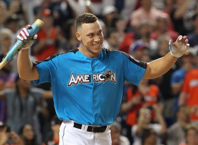 Aaron Judge crushed the Home Run Derby last night.