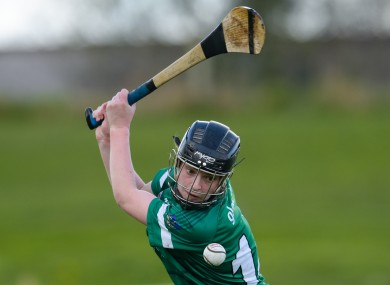 Niamh Mulcahy of Limerick impressed today.
