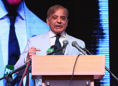Shahbaz Sharif is the main pick to succeed his brother.