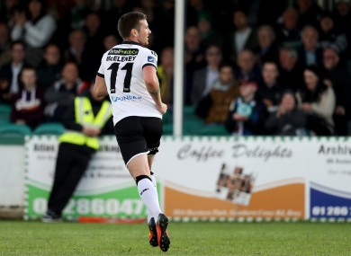 McEleney has been in fine form for Dundalk of late.