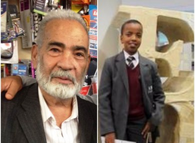 Ali Jafari (l) and Yahya Hashim (r) are the latest victims to have been identified