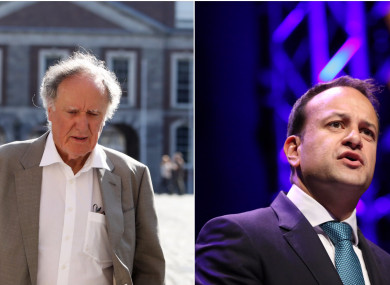 Vincent Browne and Leo Varadkar