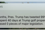CNN sent the most savage push notification about Trump's first six months in office