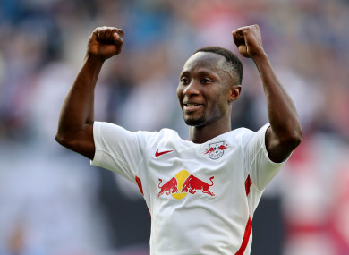 Keita is one of Liverpool's main targets this summer.