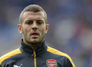 Jack Wilshere's future at Arsenal is uncertain.