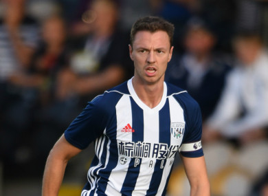 Man City are hoping to land West Brom defender Jonny Evans.