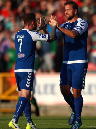 Tosi, right: Limerick's matchwinner (file photo).