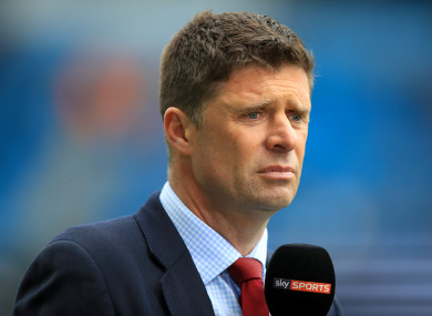 Quinn has been a regular on Sky Sports for several years.