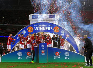 Man United are the current holders.