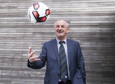 Republic of Ireland U21 manager Noel King.